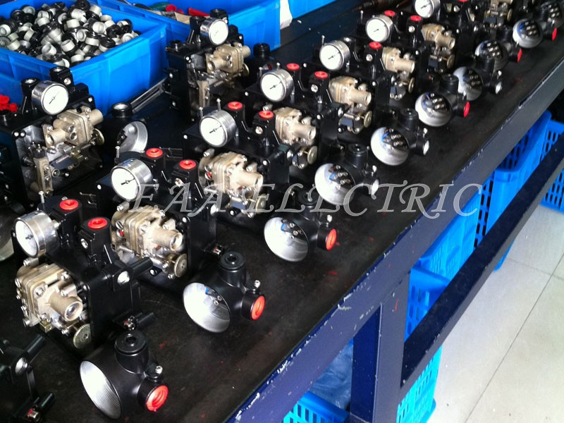 YT-1000R series Electro-Pneumatic Valve Positioner